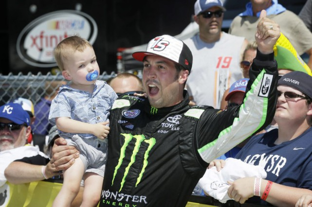 Sam Hornish fils... (PHOTO Charlie Neibergall, AP)