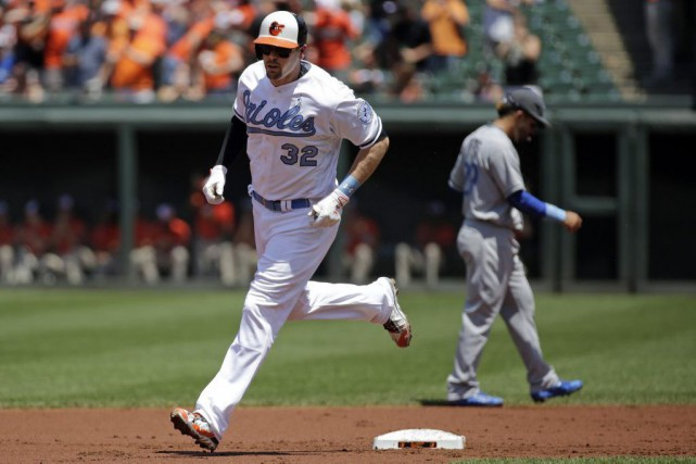 Matt Wieters... (Associated Press)