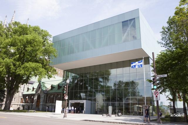 Le nouveau pavillon Lassondedu Musée national des beaux-arts... (Le Soleil, Caroline Grégoire)