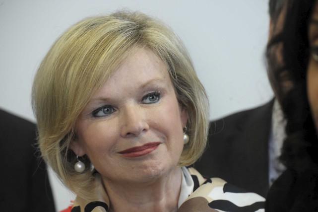Julie Boulet, ministre responsable de la Mauricie, tentera... (Sylvain Mayer)