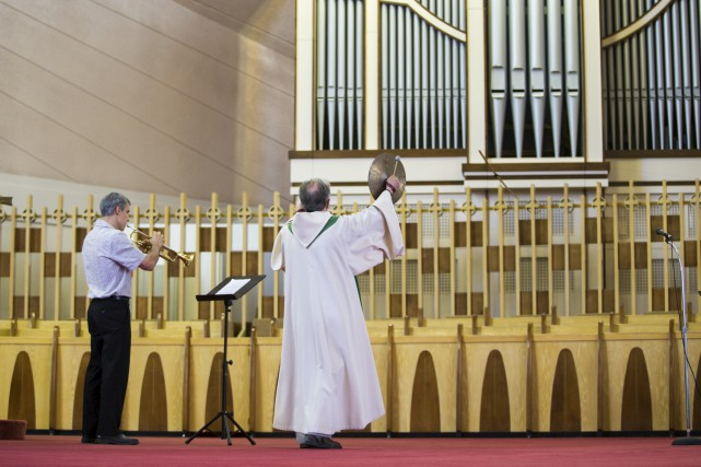 L'orgue de Nicolet... (Olivier Croteau)