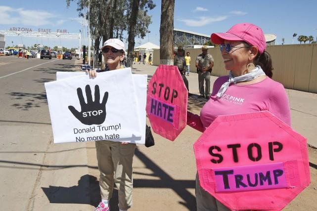 Des milliers de manifestants chercheront à se faire... (AP, Ross D. Franklin)