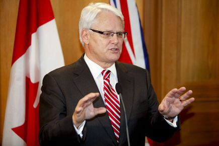 Gordon Campbell... (Archives, La Presse Canadienne)
