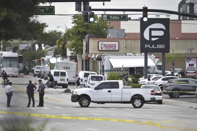 Muni d'une arme semi-automatique, Omar Mateen a commis... (AFP, Mandel Ngan)