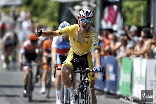 L'Américain Gregory Daniel a remporté le Tour de... (fournie par Le Tour de Beauce)