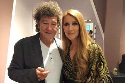 Robert Charlebois a surpris la diva lors de... (photo fournie par la production)