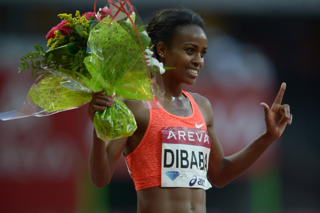 L'Éthiopienne Genzebe Dibaba est la détentrice du record du... (Photo Kirby Lee, USA Today)