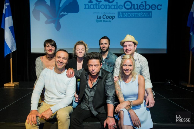 Les Soeurs Boulay, Louis-José Houde, Yann Perreau, Joël... (PHOTO ÉDOUARD PLANTE-FRÉCHETTE,LA PRESSE)