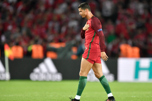 L'attaquant vedette du Portugal Cristiano Ronaldo a failli à... (Associated Press)