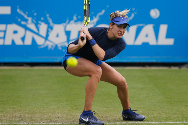 Eugenie Bouchard... (Photo Peter Cziborra, Reuters)