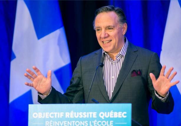 Selon le dernier sondage CROP-La Presse,le chef de... (Photo archives La Voix de l'Est)