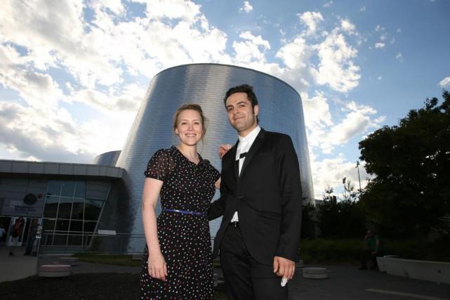 Isabelle Blais a fait la narrationdu film Astéroïde:mission... (PHOTO Martin Chamberland, LA PRESSE)
