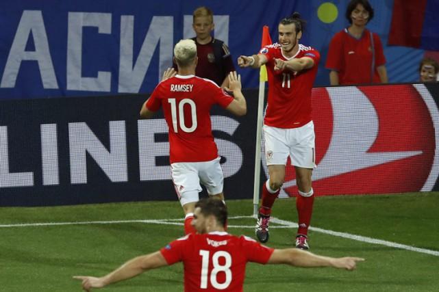 Gareth Bale (no. 11) est pour l'instant le... (PHOTO AP)