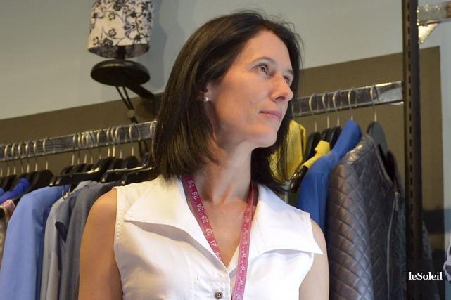 La designer de mode Marie Dooley, qui a... (Photothèque Le Soleil, Yan Doublet)