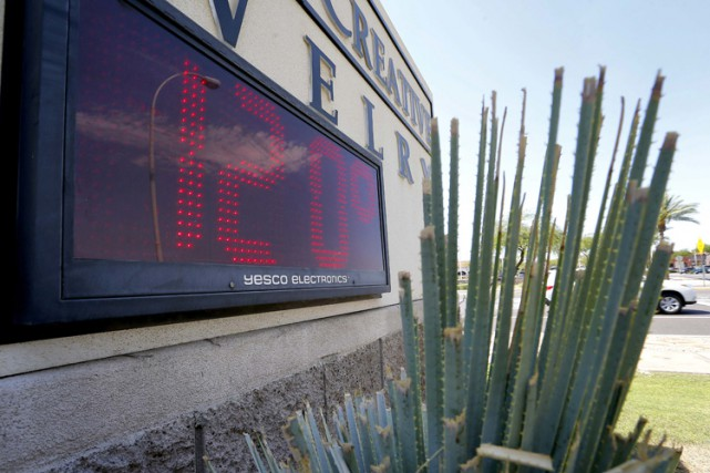 Quatre randonneurs sont morts en Arizona à cause... (PHOTO AFP)