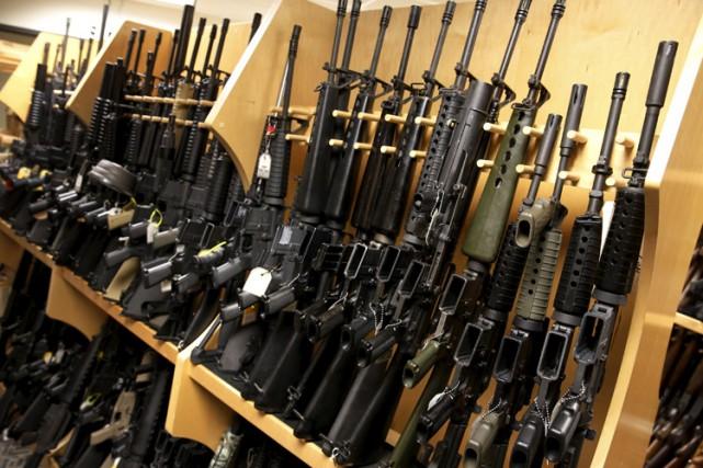 Considérant que s'armer est un droit constitutionnel, les... (PHOTO REUTERS)