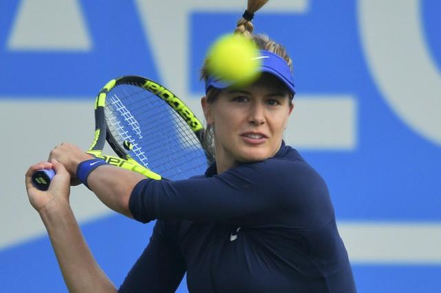 Eugenie Bouchard s'est montrée expéditive au premier tour du tournoi... (Agence France-Presse)