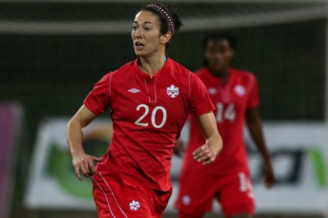 Marie-Ève Nault accompagnera ses coéquipières de l'équipe nationale... (Soccer Canada)