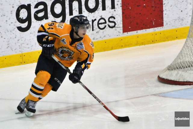 Samuel Girard des Cataractes de Shawinigan... (Archives, Le Quotidien)