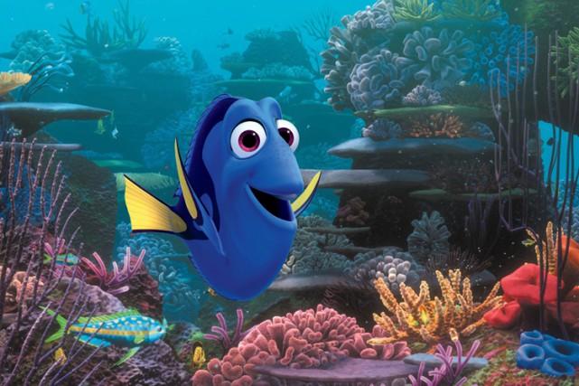 Finding Dory, la suite des aventures du petit poisson bleu amnésique... (PHOTO AP)