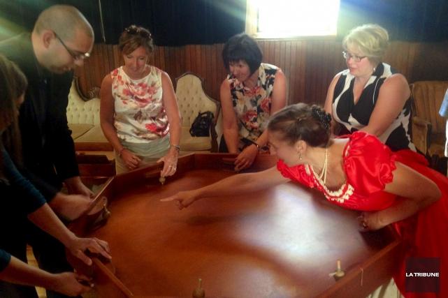 Le Salon d'antan de Ségolène Cadet a vite... (La Tribune, Eve Bonin)