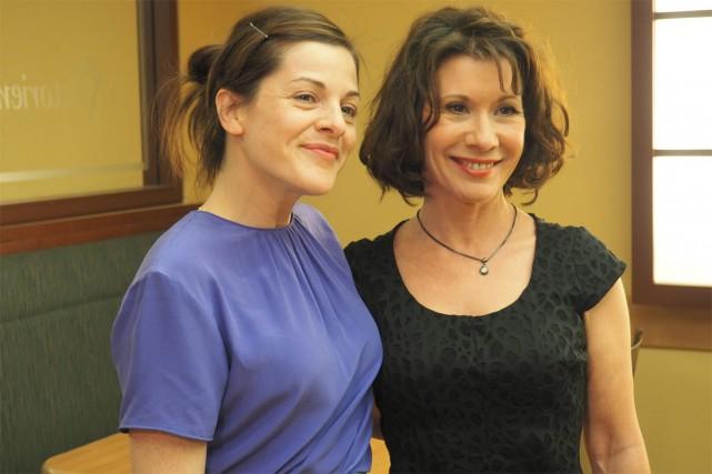 Dans Lâcher prise, Sophie Cadieux incarne une femme... (photo Joanie Lavoie, fournie par ICI Radio-Canada télé)