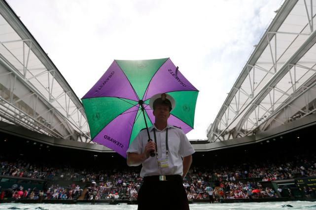 Les organisateurs du tournoi sur gazon de Wimbledon ont annoncé mardi que des... (Photo Suzanne Plunkett, archives Reuters)
