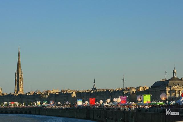 Bordeaux va célébrer de jeudi à dimanche sa 10e Fête du vin, avec plus de 500... (Photo Gilles Arroyo, archives la presse)