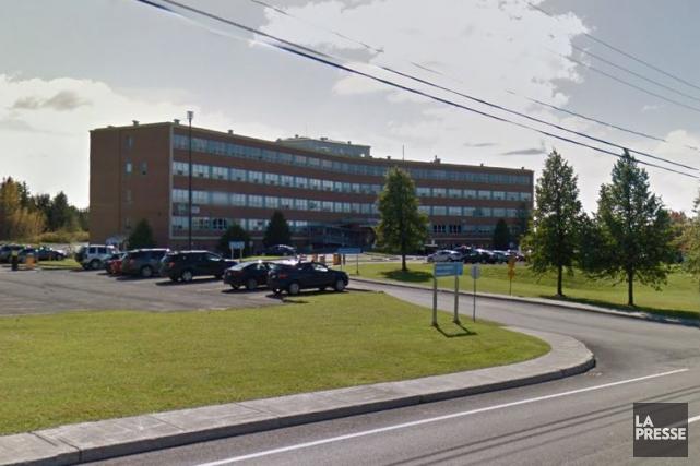 L'hôpital d'Amqui... (Google Street View)
