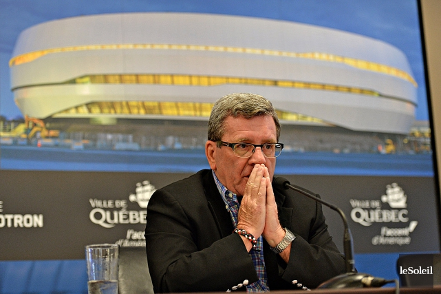 Le maire Régis Labeaume avait accepté de ne... (Photothèque Le Soleil, Patrice Laroche)