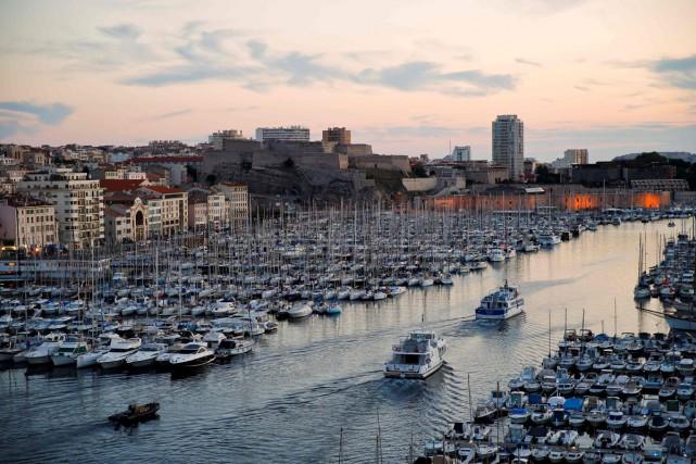 Le vieux port de Marseille.... (PHOTO AFP)