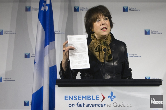 Hélène David... (Archives La Presse)