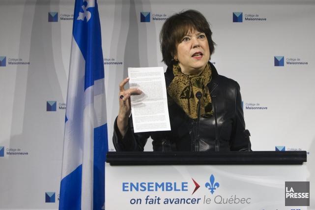 Hélène David... (Archives La Presse)