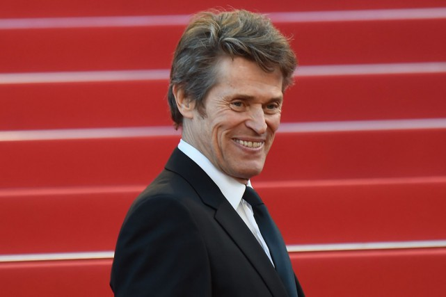 Willem Dafoe était présent au Festival de Cannes... (PHOTO ARCHIVES AFP)