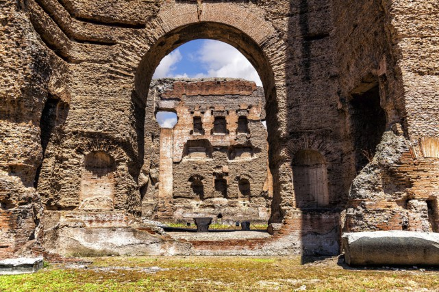 Les Thermes de Caracalla.... (PHOTO THINKSTOCK)