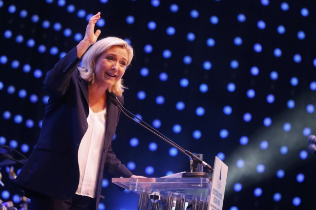 Marine Le Pen... (PHOTO REUTERS)