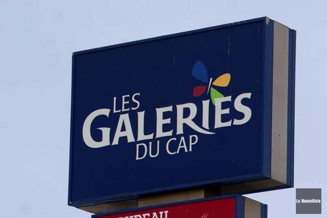 La présumée tentative d'enlèvement, survenue aux Galeries du... (Stéphane Lessard, Le Nouvelliste)