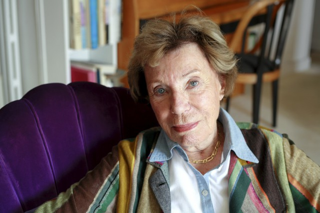 Figure française du féminisme, Benoîte Groult (photographiée ici... (AFP, Catherine Gugelmann)