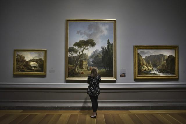 L'exposition présentée au National Gallery of Art de... (AFP, Mandel Ngan)