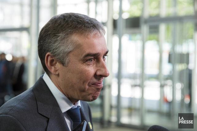 Nicolas Marceau, porte-parole péquiste en matière de finances... (Archives La Presse)