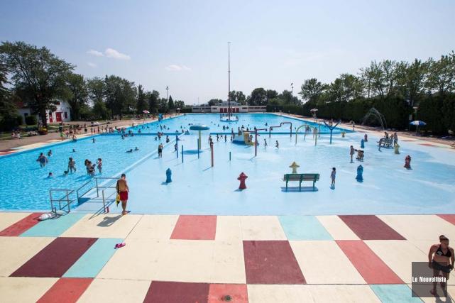 La piscine de l'Expo ainsi que les autres... (Olivier Croteau, Le Nouvelliste)