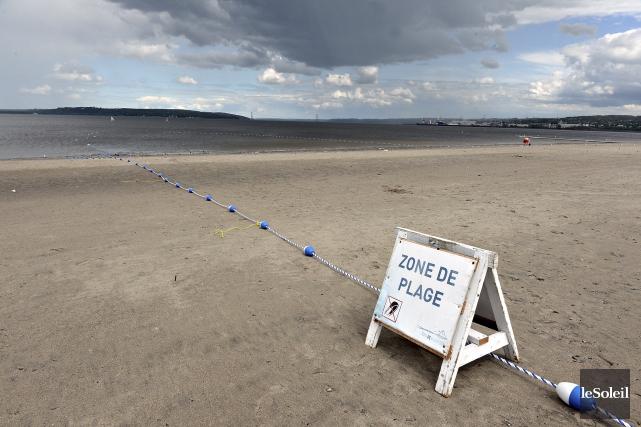 La baignade sera permise dans la Baie de... (Le Soleil, Patrice Laroche)