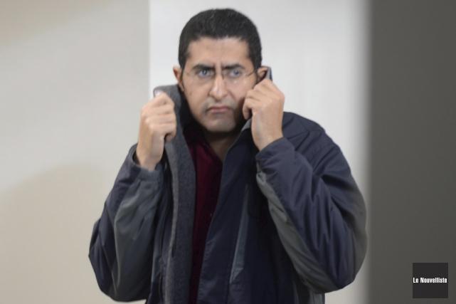 Baher Ibrahim... (Sylvain Mayer, Le Nouvelliste)
