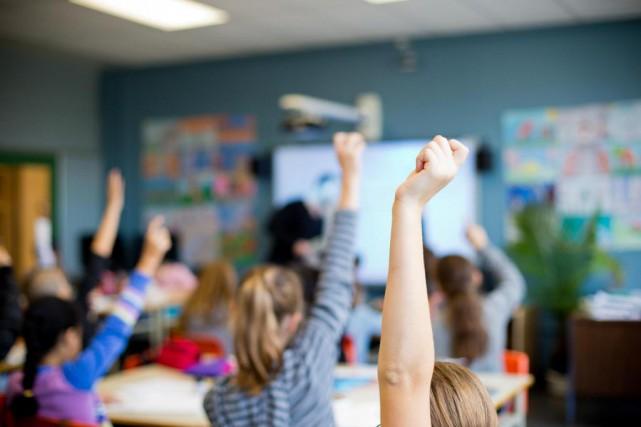 La prochaine rentrée scolaire pourrait être chaotique sur... (PHOTO SARAH MONGEAU-BIRKETT, ARCHIVES LA PRESSE)