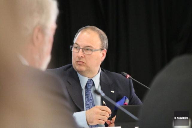 Le directeur général du CIUSSS-MCQ, Martin Beaumont, a... (Audrey Tremblay, Le Nouvelliste)