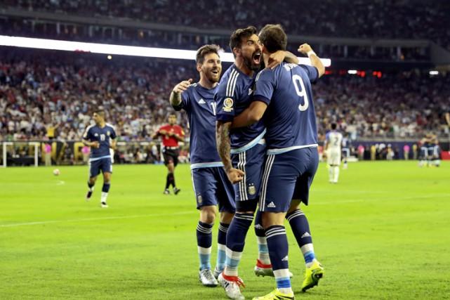Pour la troisième fois en trois ans, l'Argentine disputera la finale d'un grand... (PHOTO REUTERS)