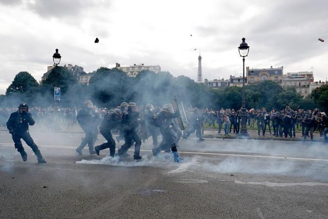 Après les violences du 14juin (photo), le ton... (Photo Philippe Wojazer, archives Reuters)