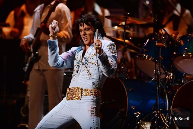 Martin Fontaine, en Elvis.... (Photothèque Le Soleil, Érick Labbé)