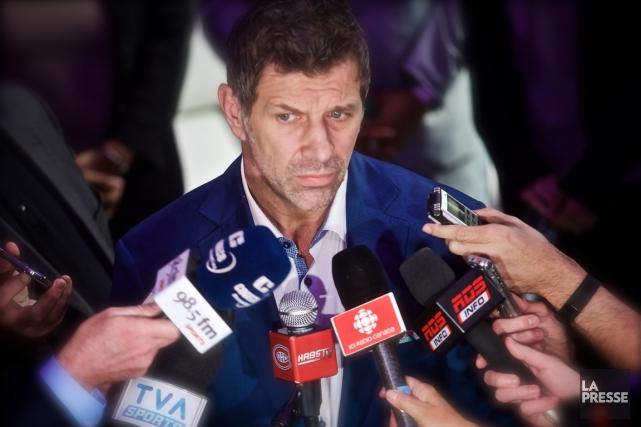 Le directeur général du Canadien, Marc Bergevin.... (Photo André Pichette, La Presse)