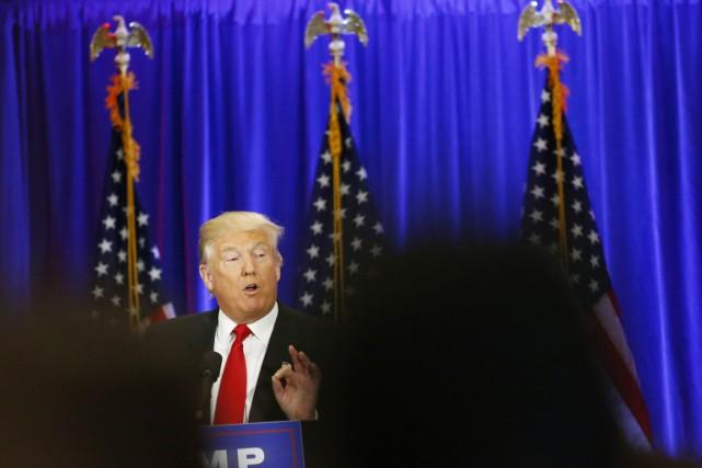 Le candidat républicain présumé à la présidentielle de... (PHOTO KENA BETANCUR, AFP)